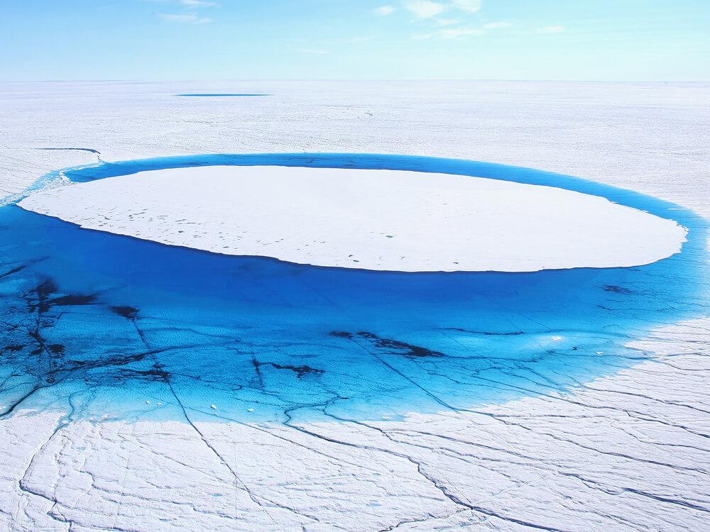 ALARMING Greenland's ice sheet