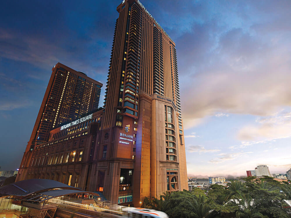 Berjaya Times Square (3.44 million Sq. feet), Kuala Lumpur, Malaysia