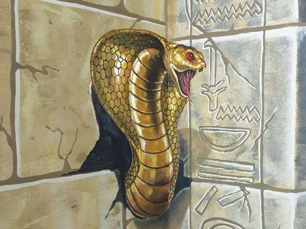 snake 3d dubai