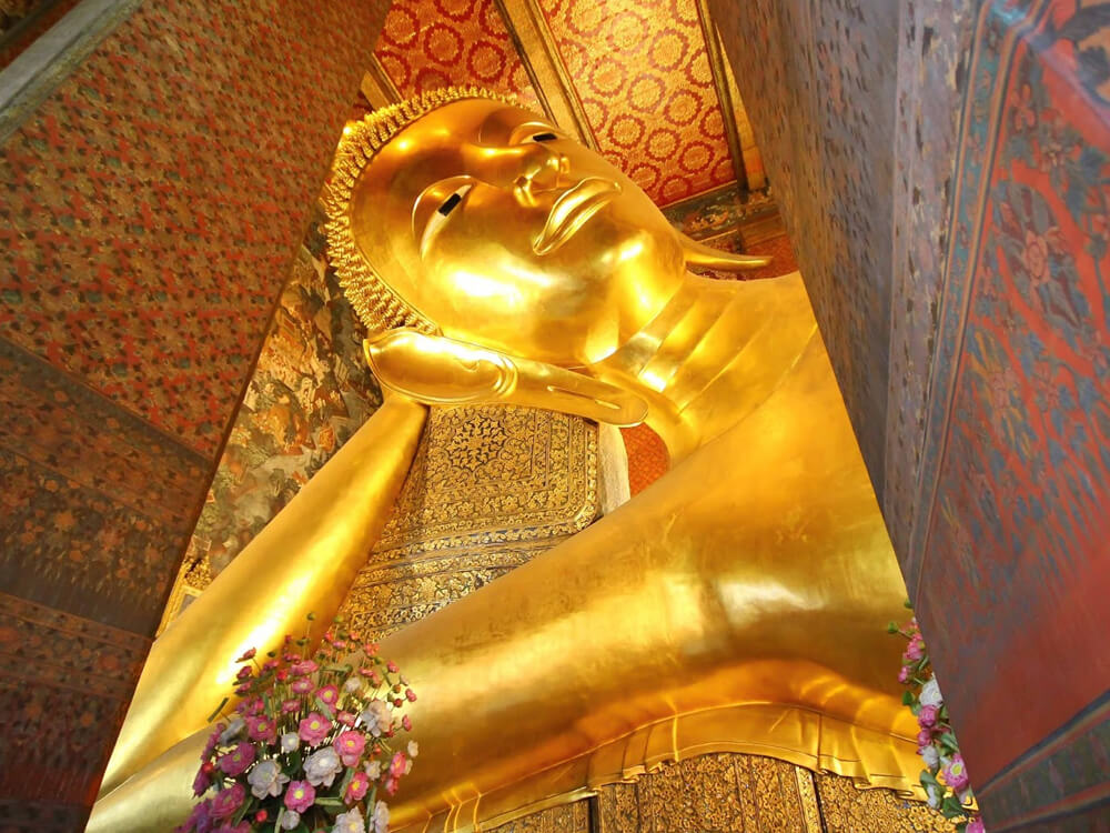 Image of Buddha Statue 150 ft long