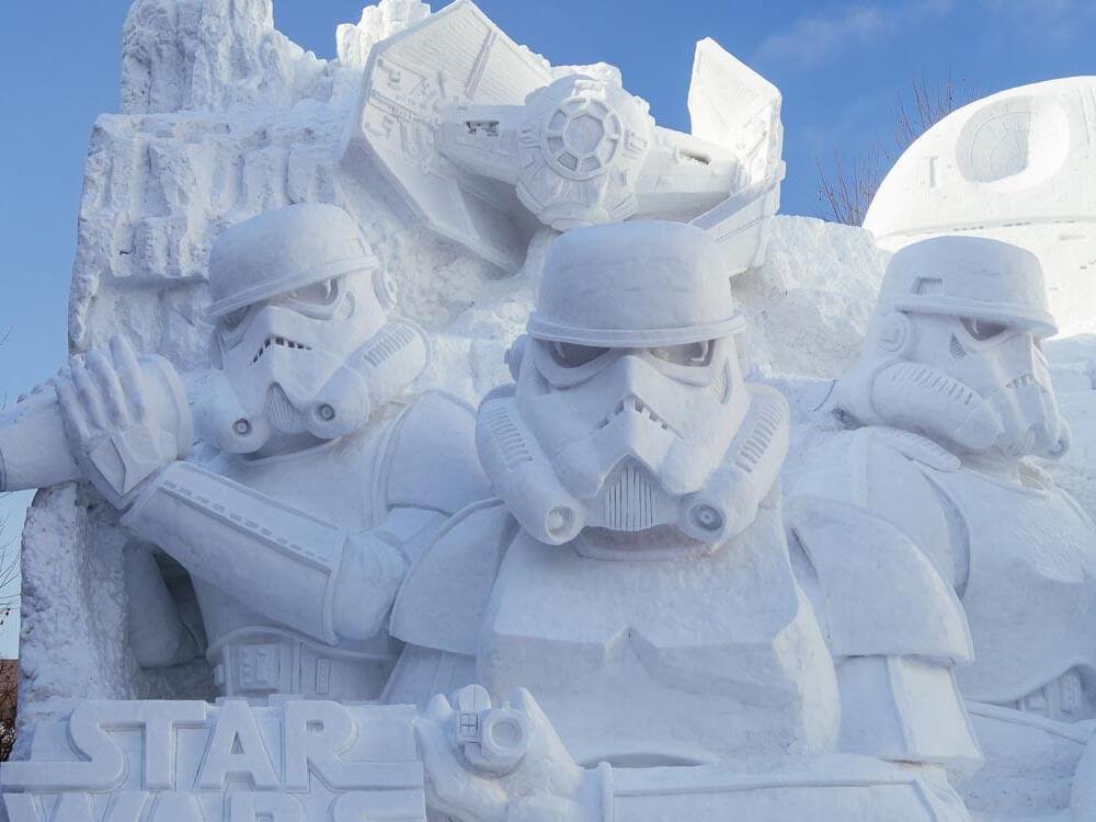 Attend Sapporo Snow Festival