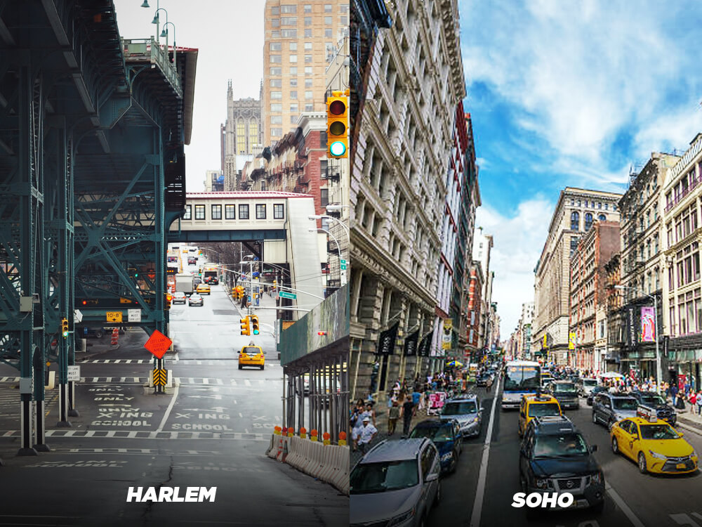 Pick Harlem over Soho