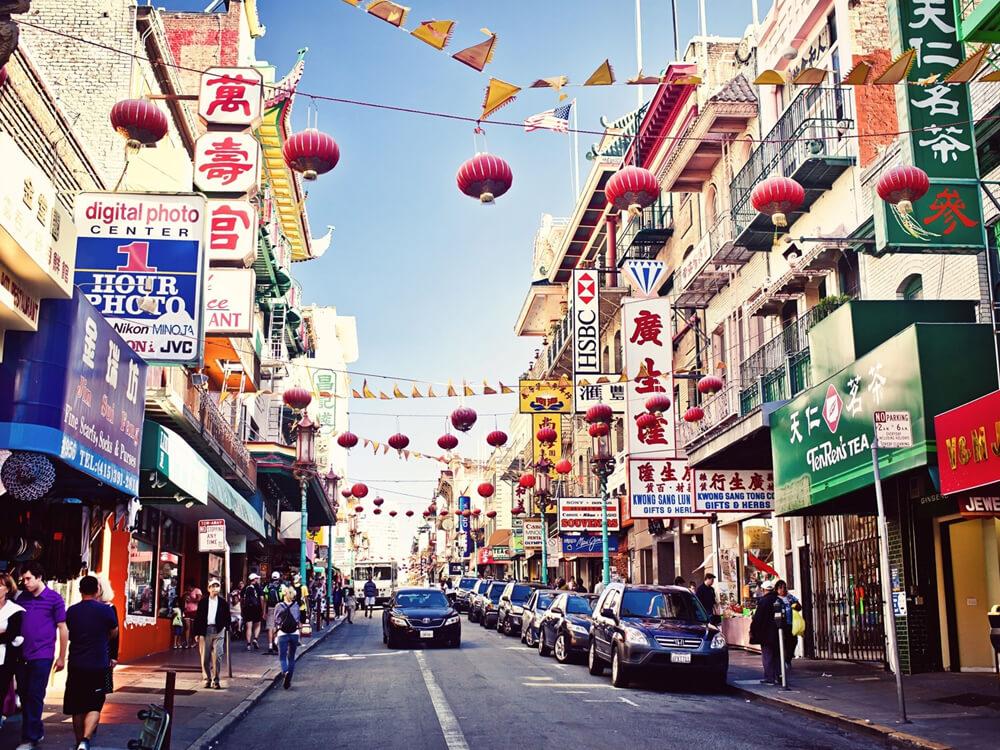 Image of China town Bangkok