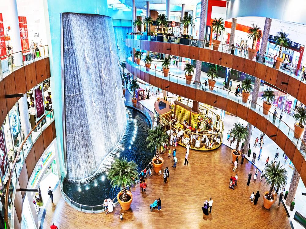 Dubai Mall (3.77 million Sq. feet), Dubai, United Arab Emirates
