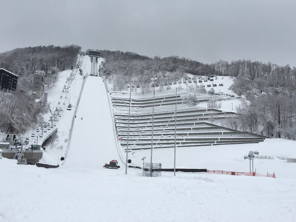 Admire the Okura-yama Ski Jump Stadium