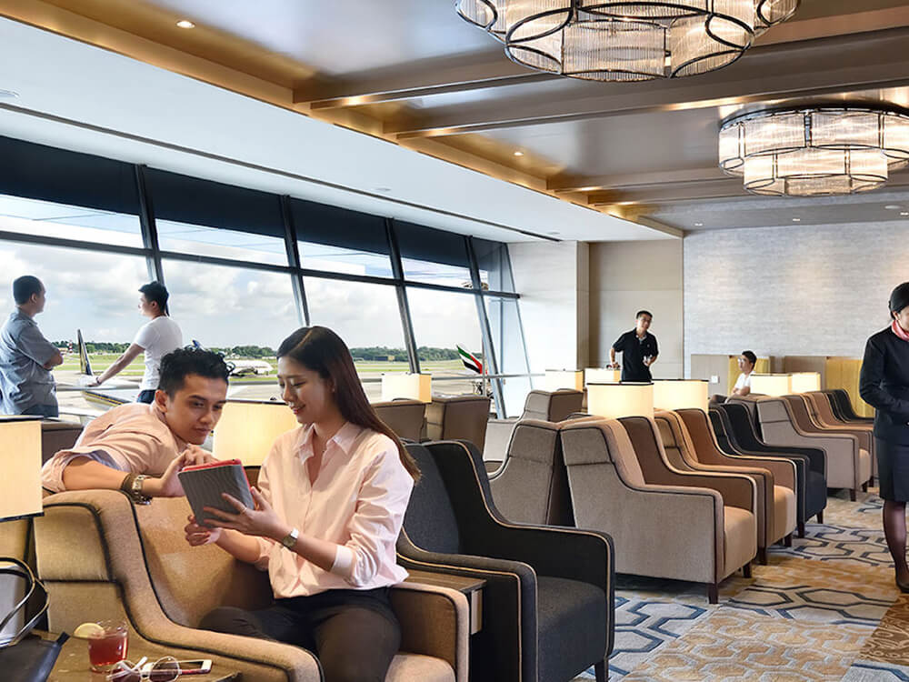Air travel tip #4: Visit the airport lounge during a long layover