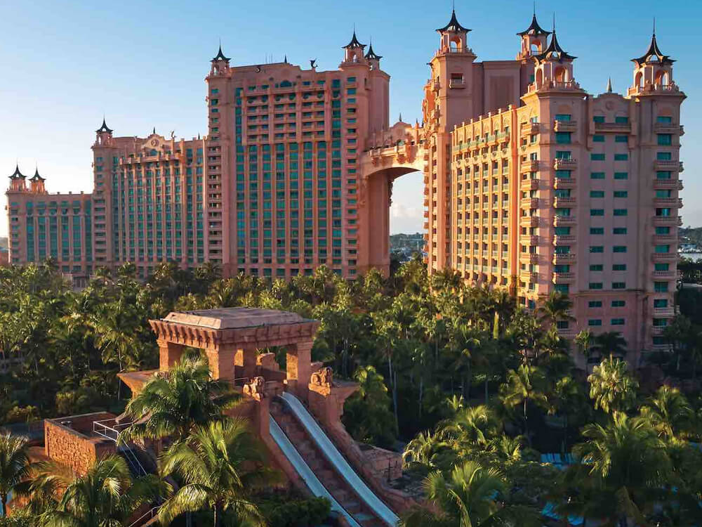 Atlantis Paradise Island in the Bahamas