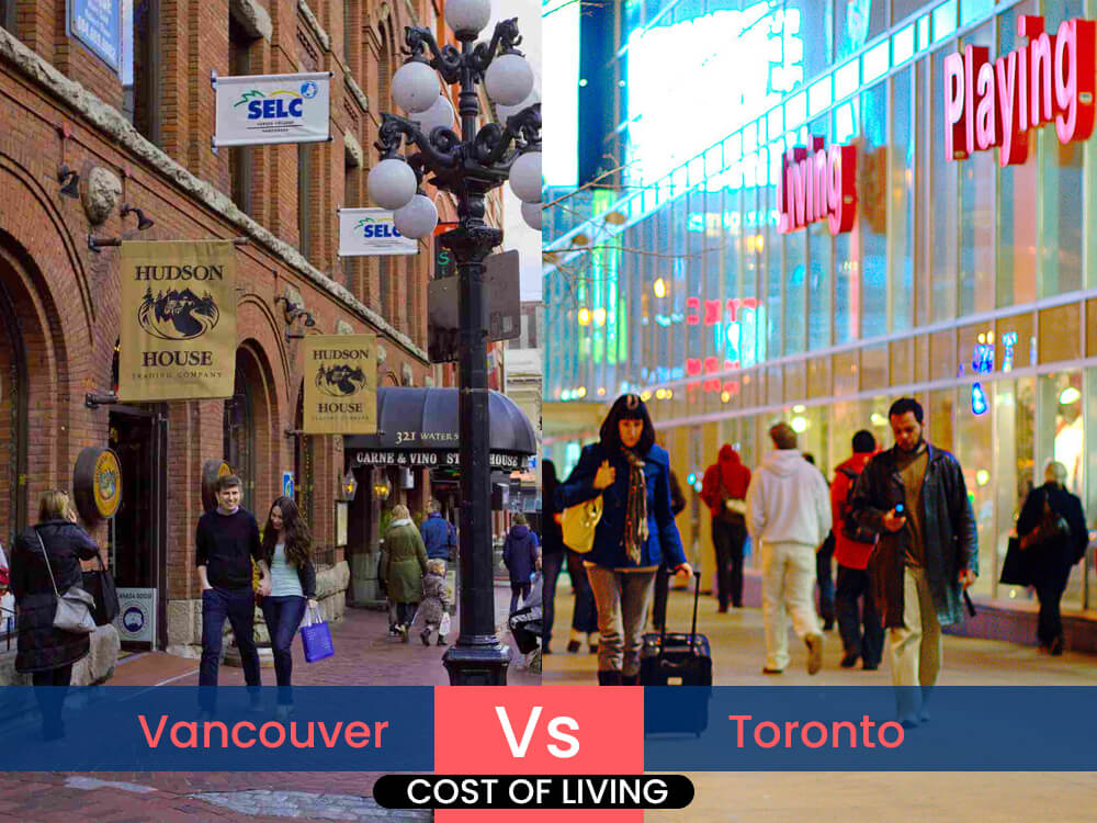 2. Vancouver vs. Toronto: Cost of living