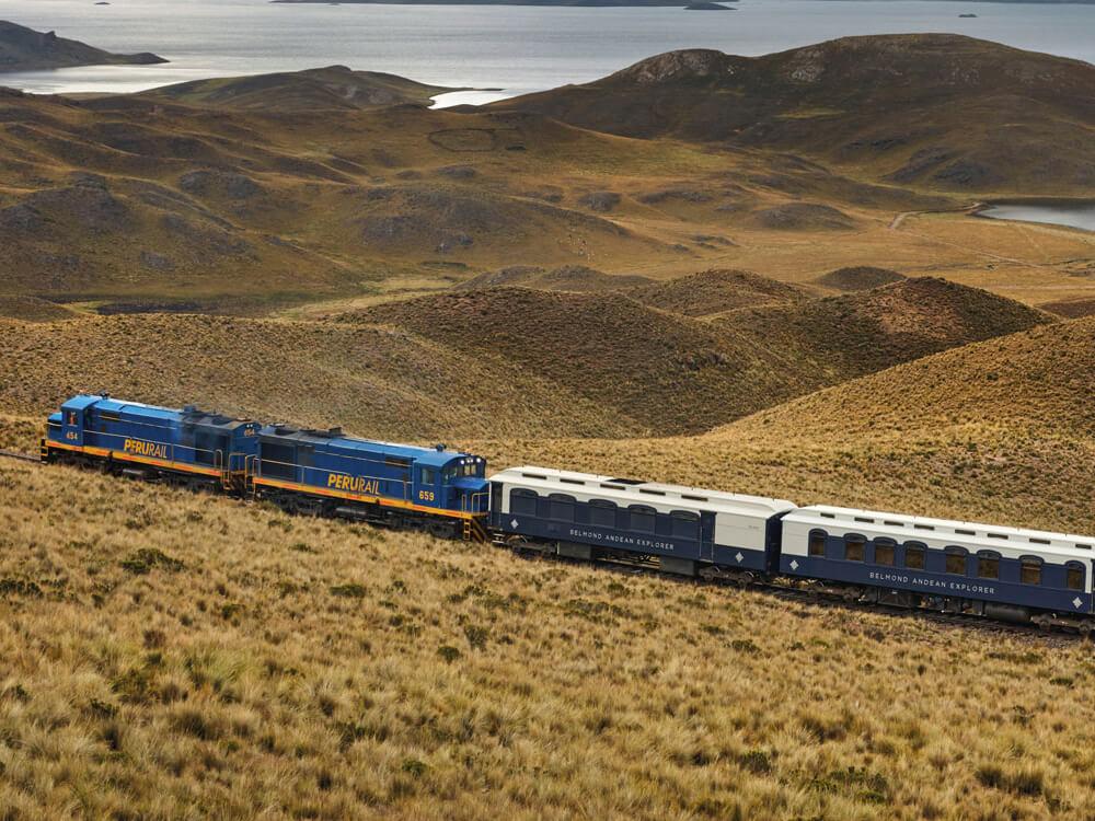 Perurail's Lake Titicaca Railway, Peru