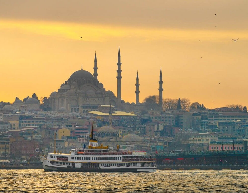 The Golden Horn ferry, Istanbul, Turkey