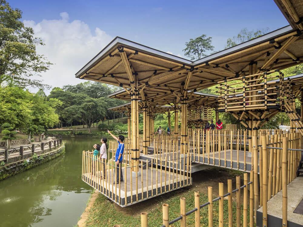 The Lake Gardens aka Kuala Lumpur Perdana Botanical Gardens