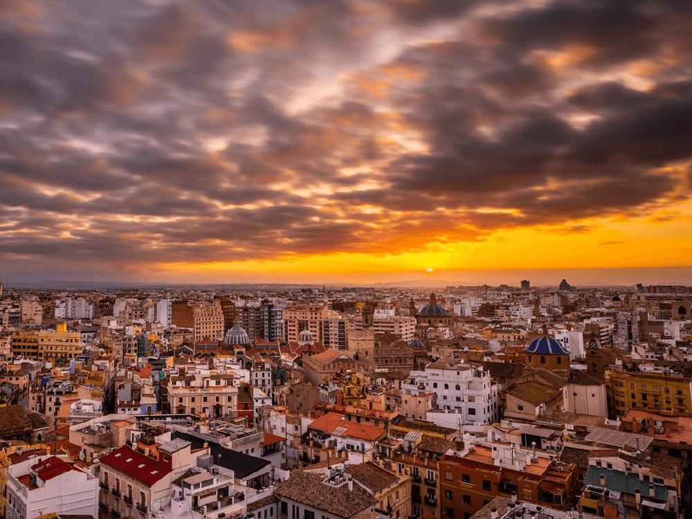 spanish Enchanted sunsets