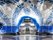 The city with the world's most beautiful subway station!