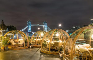 Must visit Winter Igloos By The River Thames, London!