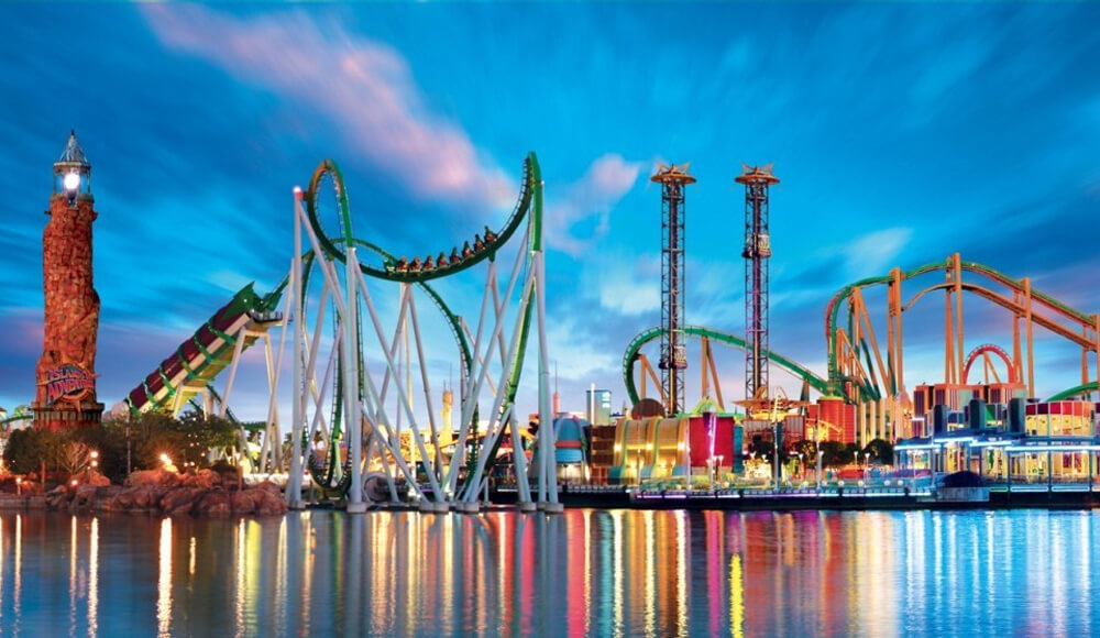 Top 10 Amusement Parks Around the World
