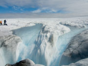 Greenland's ice sheet is melting