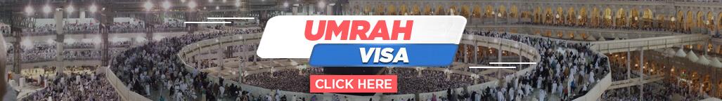 umrah visa banner