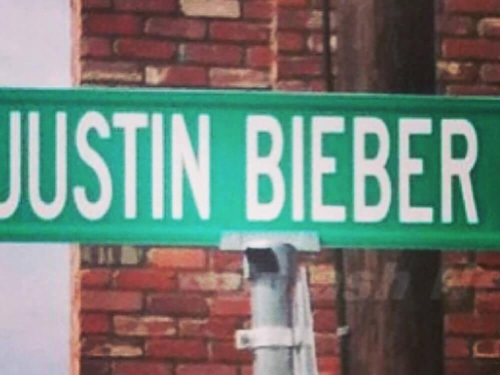 Justin Bieber Way