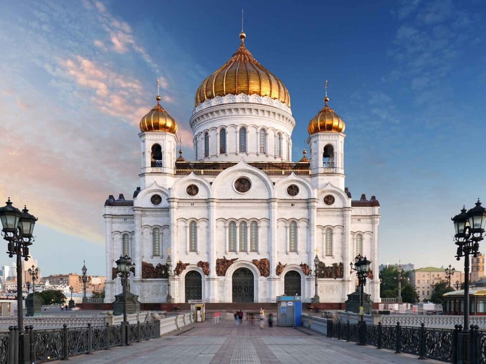 AROUND CATHEDRAL OF CHRIST THE SAVIOUR