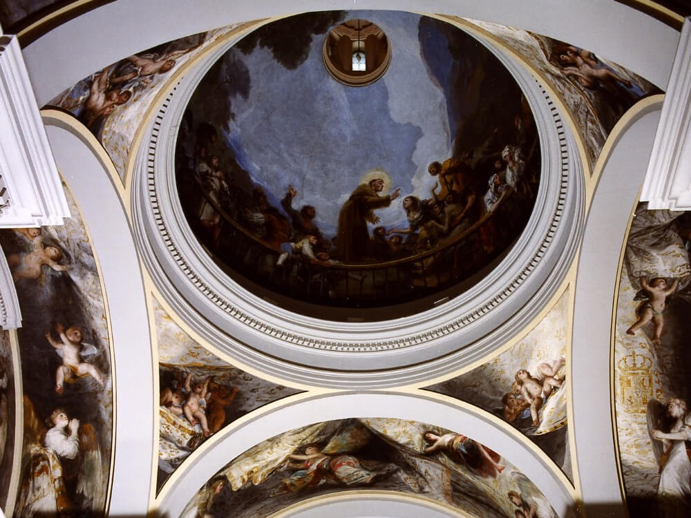 Goya Frescoes at Ermita de San Antonio de la Florida