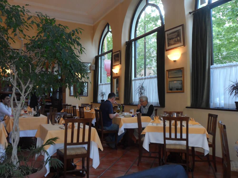 Italian restaurant Scalini