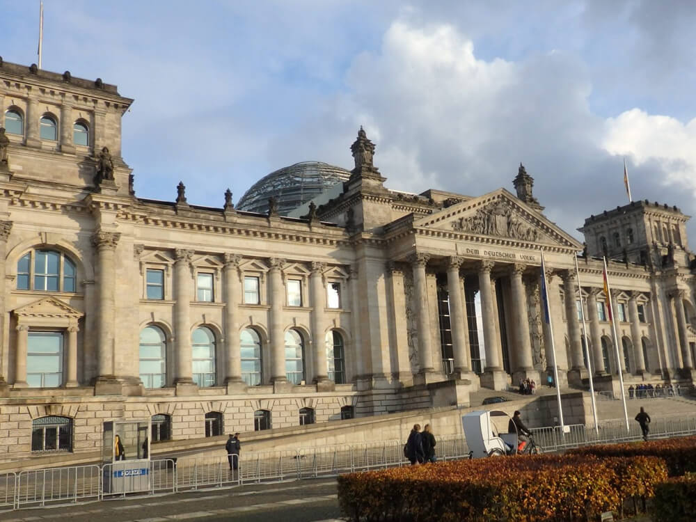The Rebuilt Reichstag