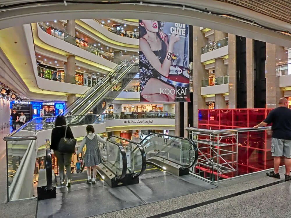 Times Square Shopping Mall