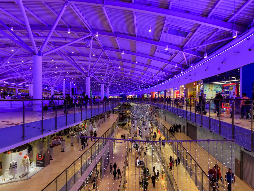 aviapark shopping mall