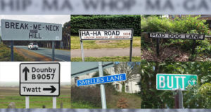 The Most Funny Street Names and the Most Striking Addresses in the World
