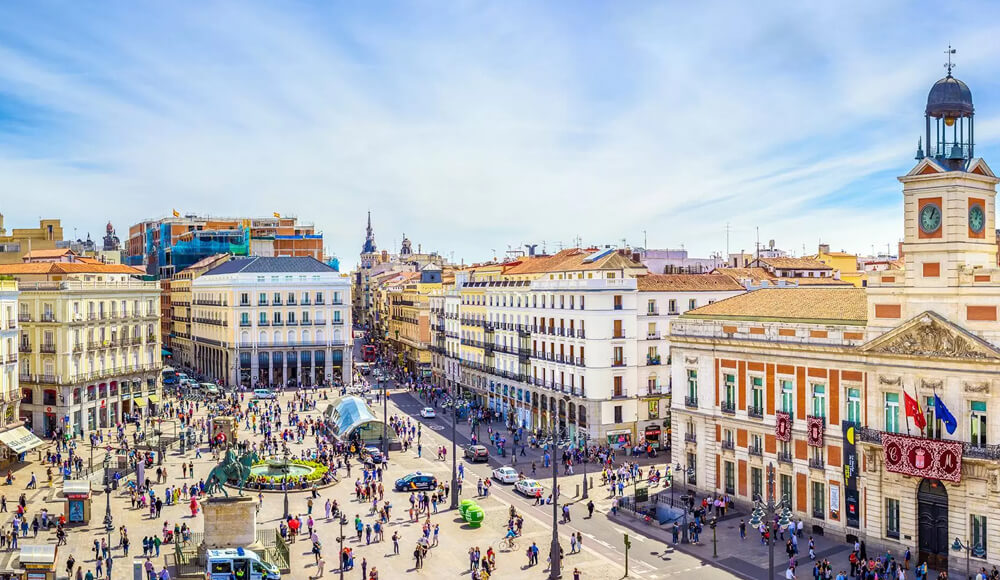 Top Famous Places In Madrid, Spain