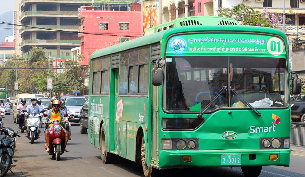 Top Public Transport In Phnom Penh, Cambodia