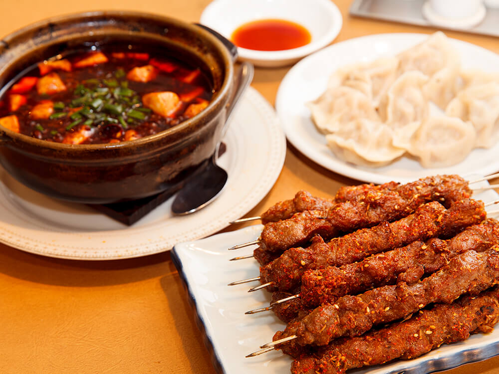 Chinese Muslim Restaurant in Tokyo