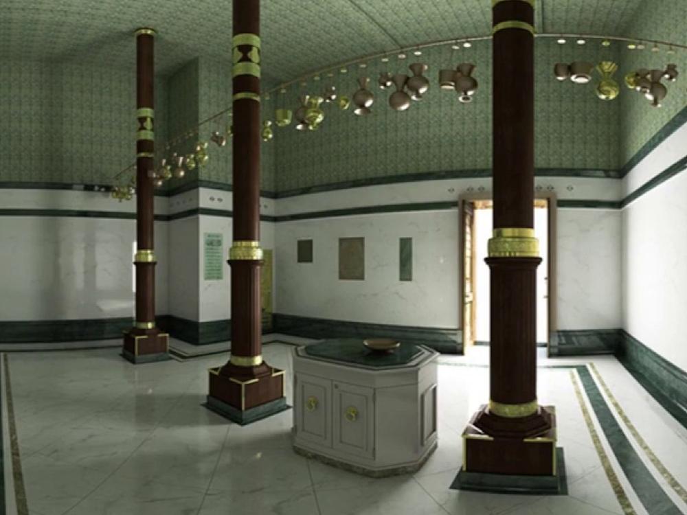 Kaaba From Inside