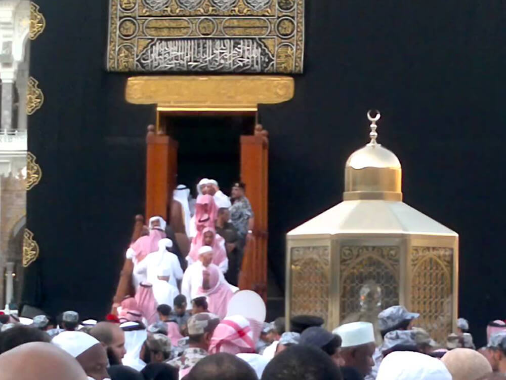 Kaaba Open for Public