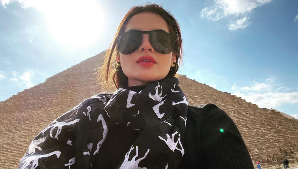 Minal Khan Travels to Egypt