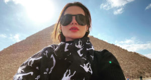 Minal Khan Travels to Egypt