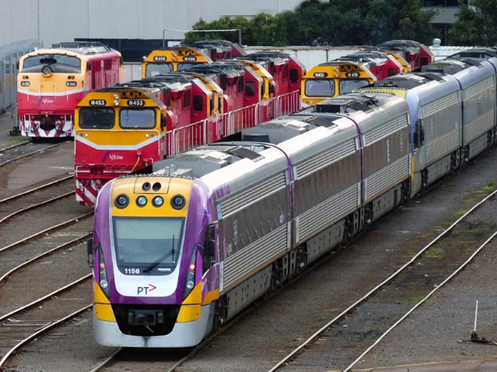 VLine trains