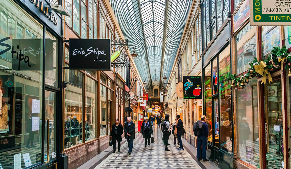 Top Shopping Areas in Paris, France