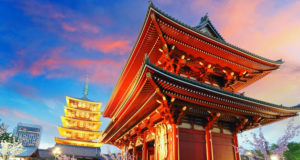 Top Famous Places in Tokyo, Japan