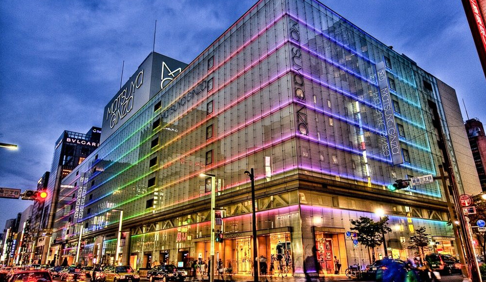 Top Shopping Areas in Tokyo, Japan