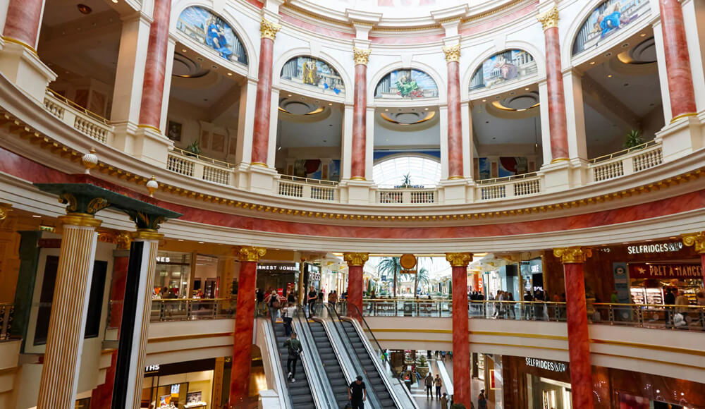 Top Shopping Areas in Manchester, United Kingdom