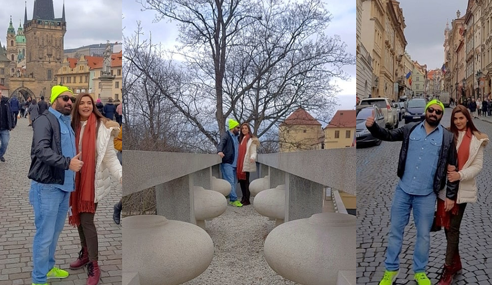 Good Morning Hos Nida Yasir Spend Vacations with her Hubby in Czech Republic -
