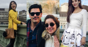 Pakistani Celebrities Who are Love to travel outside the border