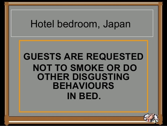 Hotel bedroom, japan