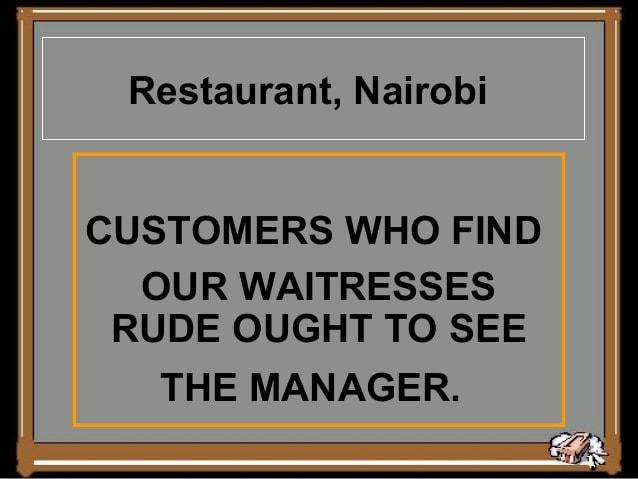 Nairobi Restaurant