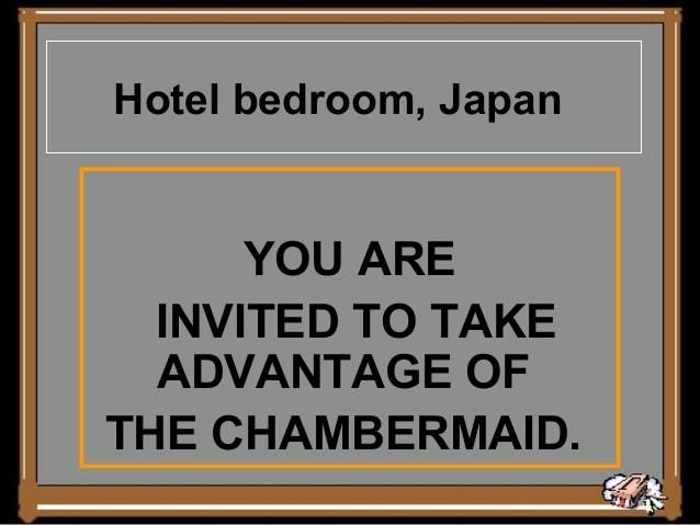 Hotel, Japan