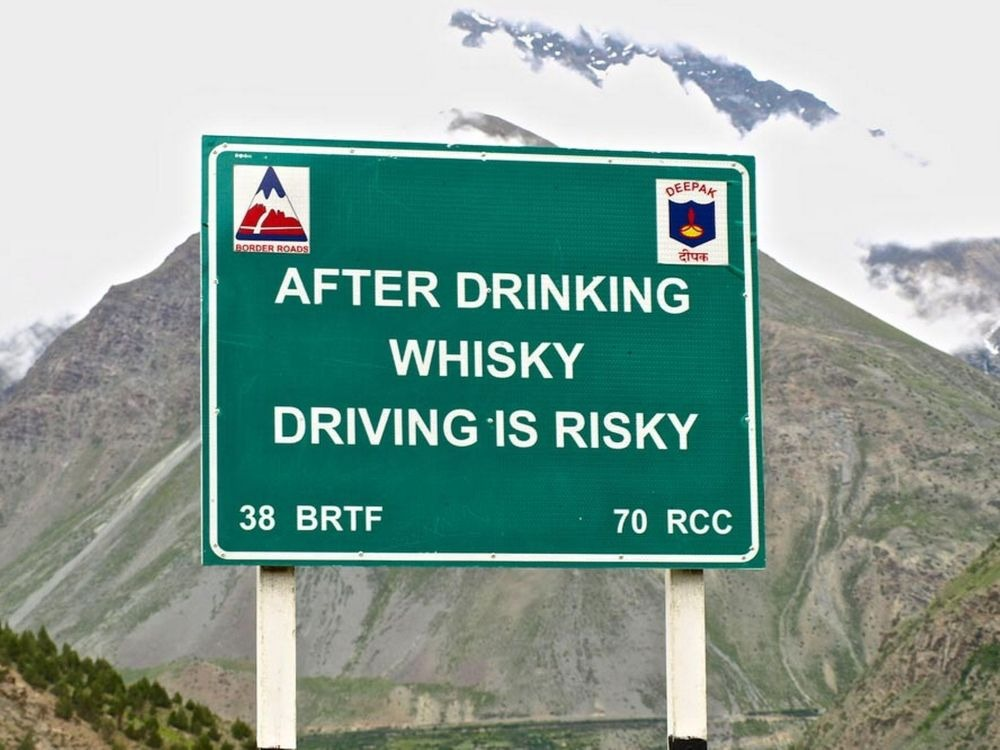 After whisky driving risky-min