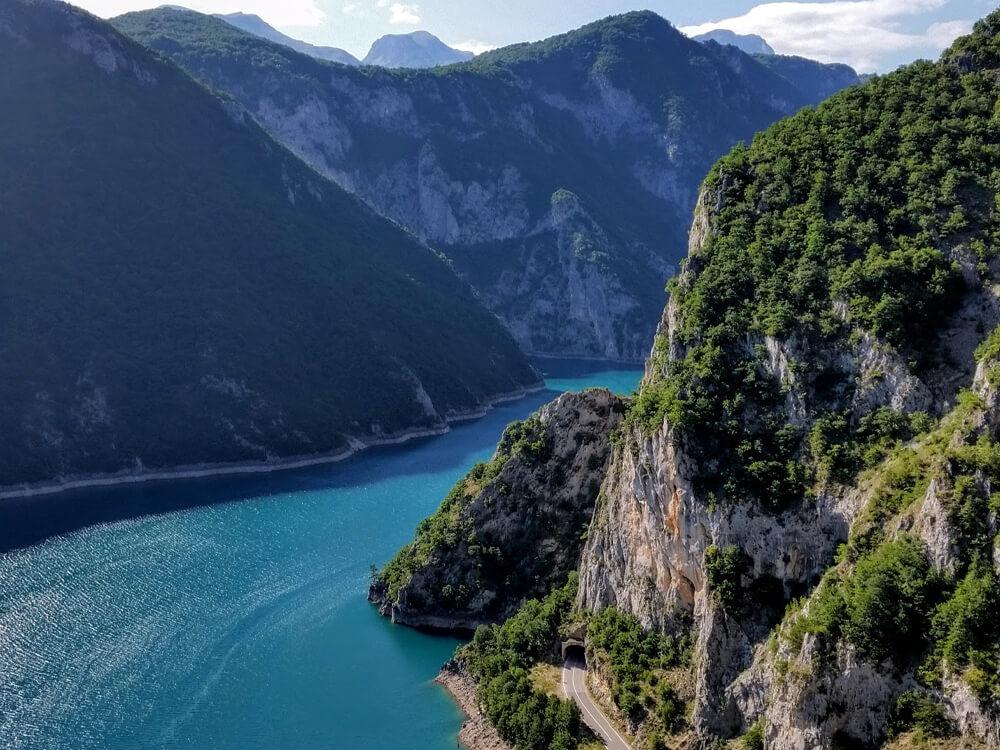 Piva lake, Montenegro