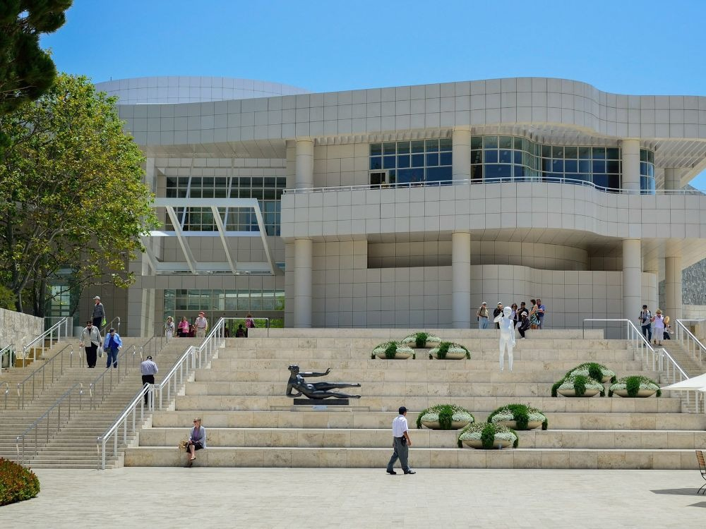 The J Paul Getty Museum in Los Angeles-min