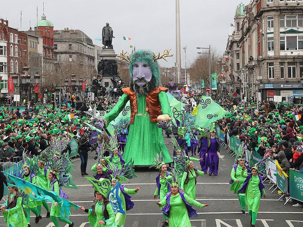 St. Patrick's Day, Dublin, Ireland